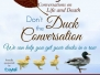 Don't Duck the Conversation 2016