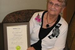 Anita McDowell Good Citizen Award City of Thunder Bay 2011