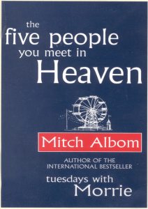Five People You Meet In Heaven - by Mitch Albom