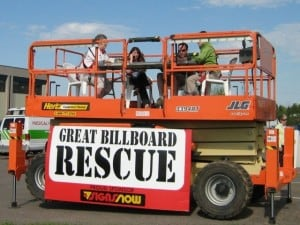 United Way Great Billboard Rescue