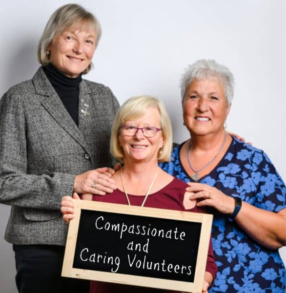 Compassionate and Caring Volunteers