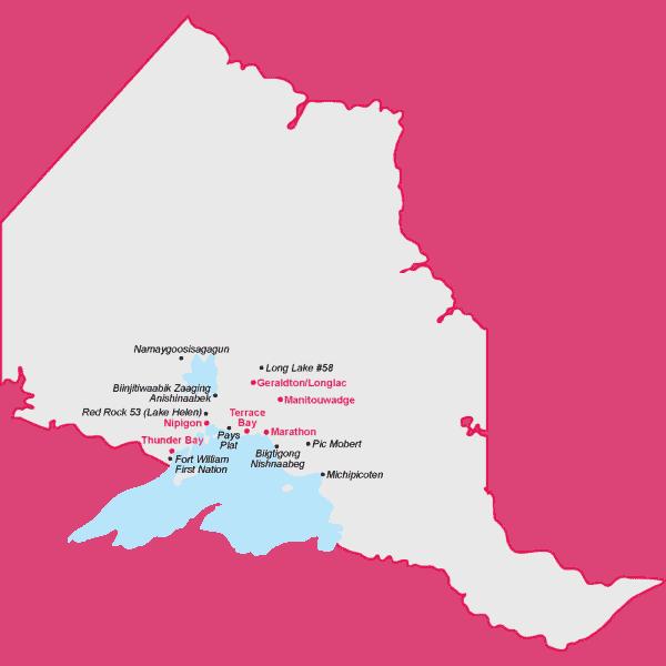 Regional Coverage Map